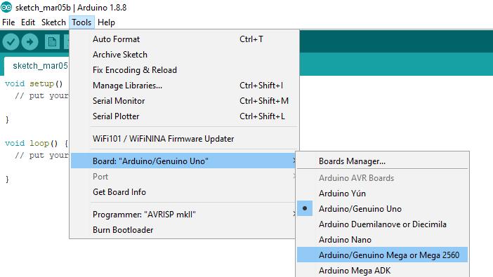 Quick Start with Arduino IDE – Geekering